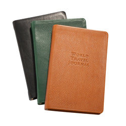 World Travel Journal - Traditional Leather