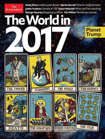 The Economist World in 2017 cover.
