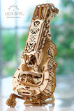 3D Mechanical Puzzle Hurdy-Gurdy Model