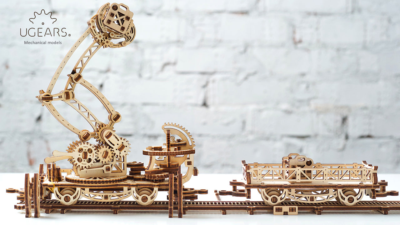 Rail Manipulator - Build Your Own Mechanical Town Model
