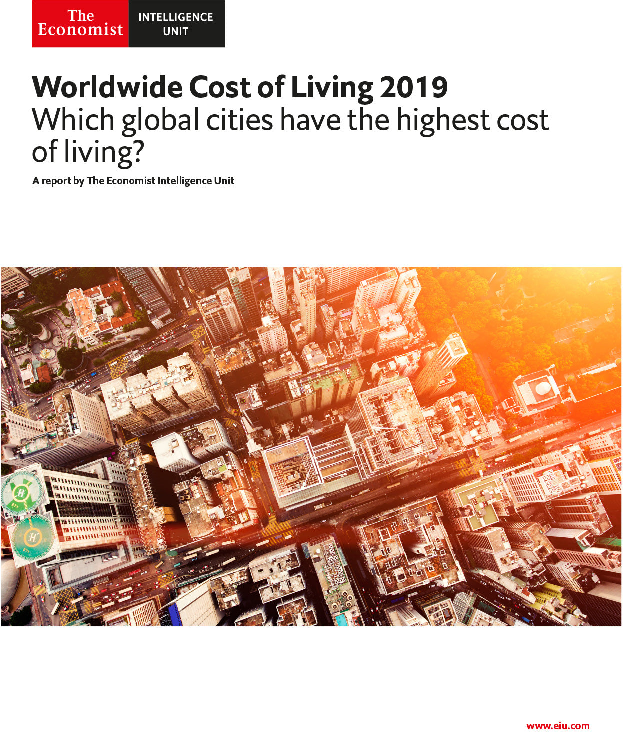 Worldwide Cost of Living 2019