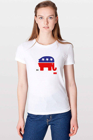 Women's T-Shirt: The debasing of American politics
