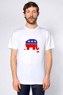 Men's T-Shirt: The debasing of American politics