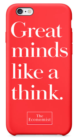 The Economist I-Phone Case: Great Minds Like a Think