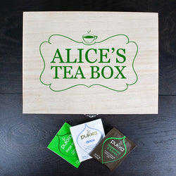 Personalized Unique Delightful Tea Box With Full Name