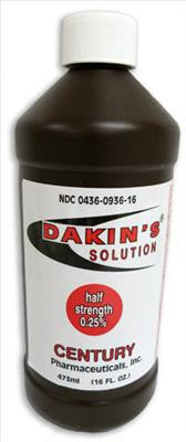 Dakin's Solution Half-Strength (IN-STORE ONLY!)