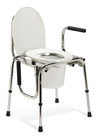 Drop-Arm Commode (Plain seat)