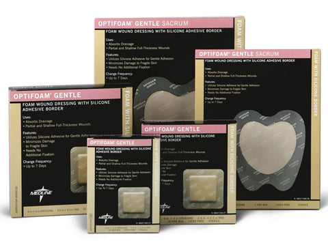 Optifoam Silicone Gentle by Medline