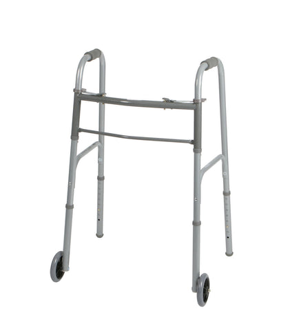 Foldable Walker w/ Wheels by Medline