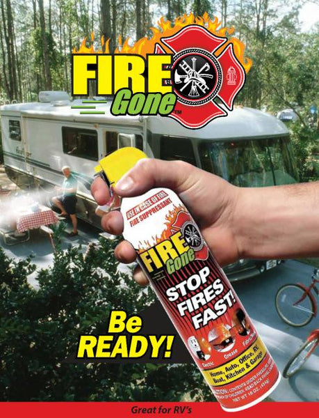 Fire Gone Fire Extinguisher Master Tech Rv