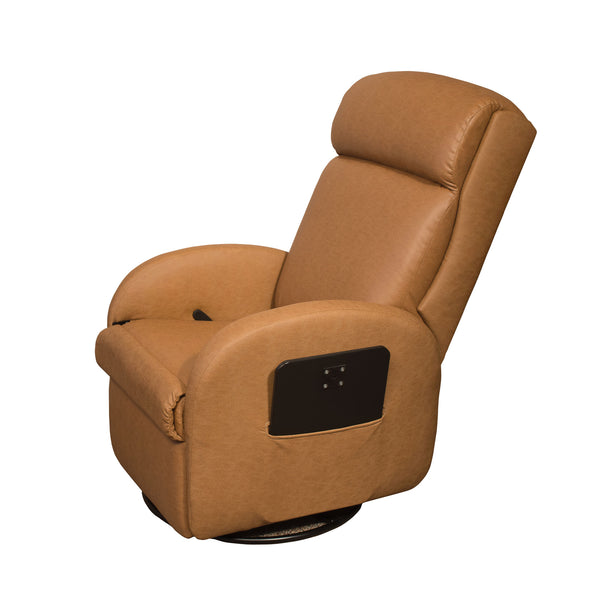 Lambright Lazy Lounger Swivel Wall Hugger Recliner