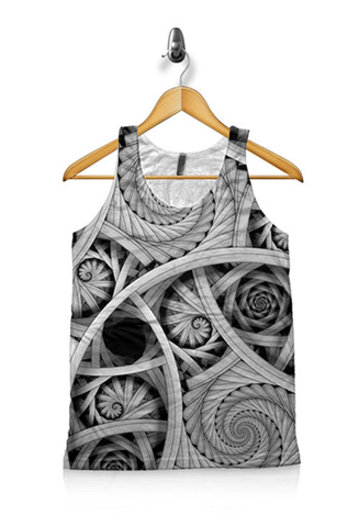 Synergetic Spiral Unisex Tank