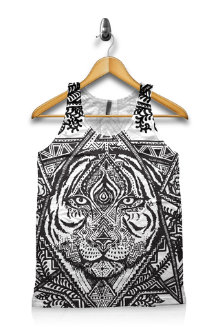Galactic Tribal Tiger - Unisex Tank Top