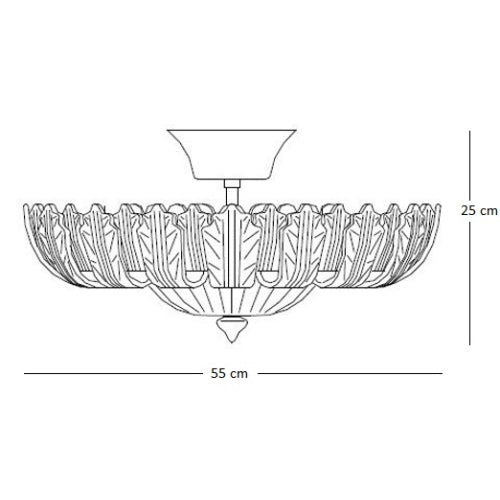 Ceiling Light 74 Small