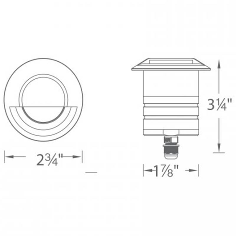 LED Circle Step Light Specifications