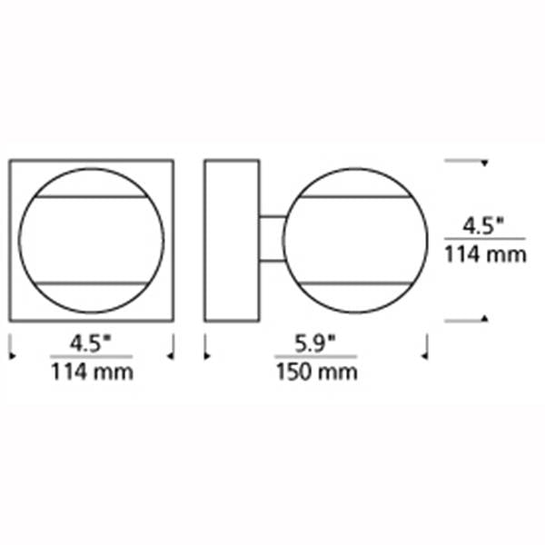 Oko Wall Sconce Specifications