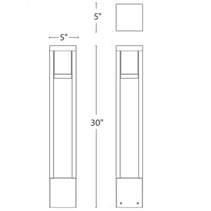 Tower LED Bollard Specifications