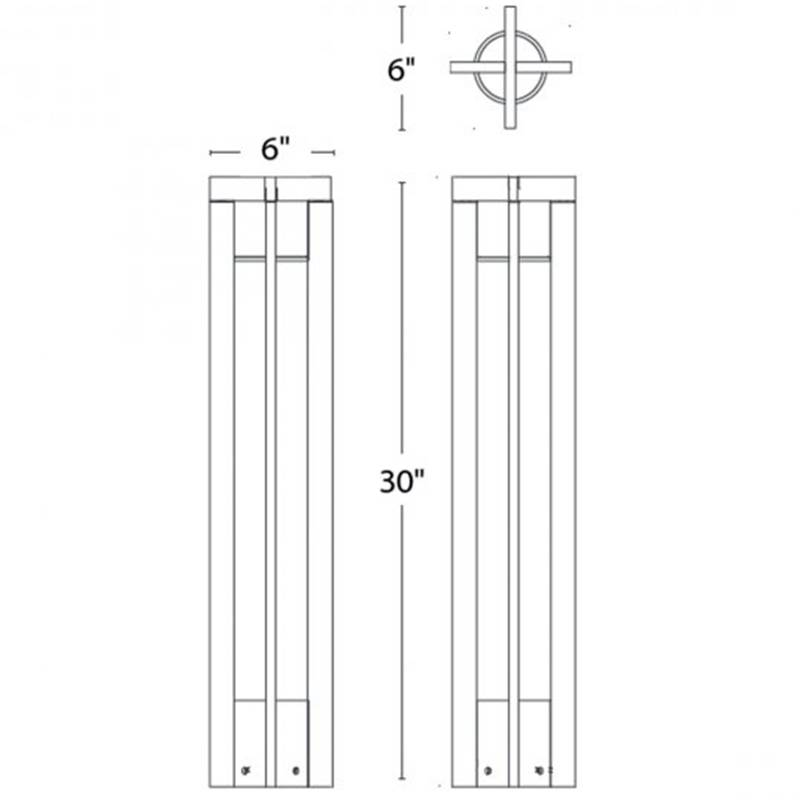 Chamber LED Bollard Specifications