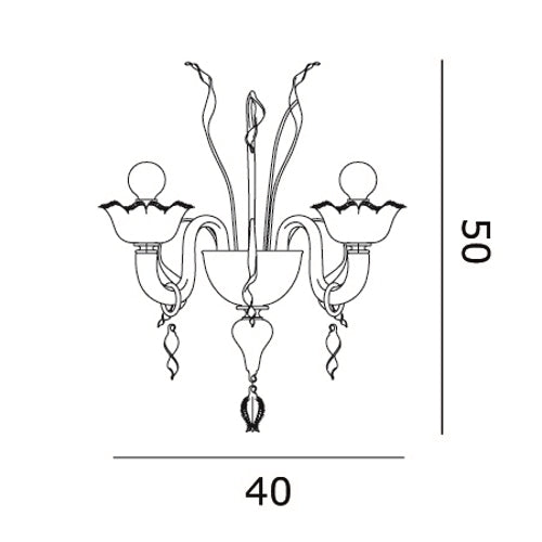 7055 A2 Wall Sconce