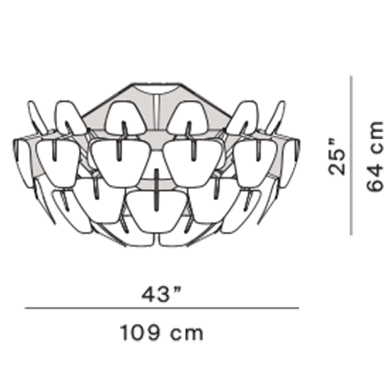 Hope D66/30  Flushmount Specifications