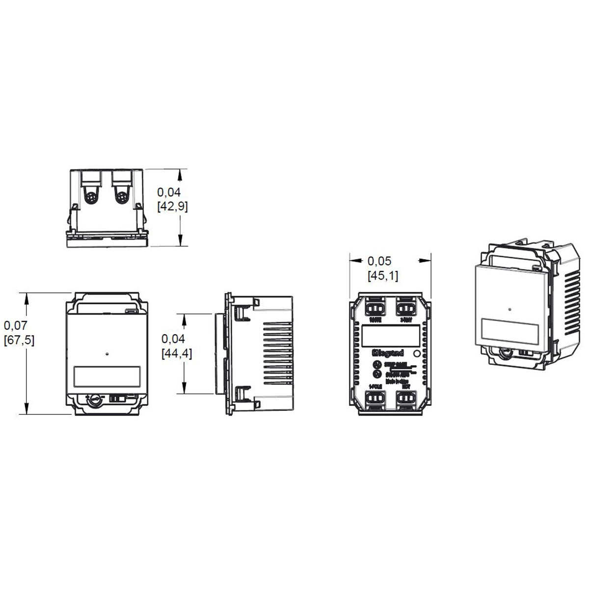 Adorne Motion Sensor Switch Manual On/Auto Off Specifications