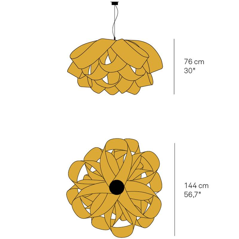 Agatha Large Chandelier Specifications