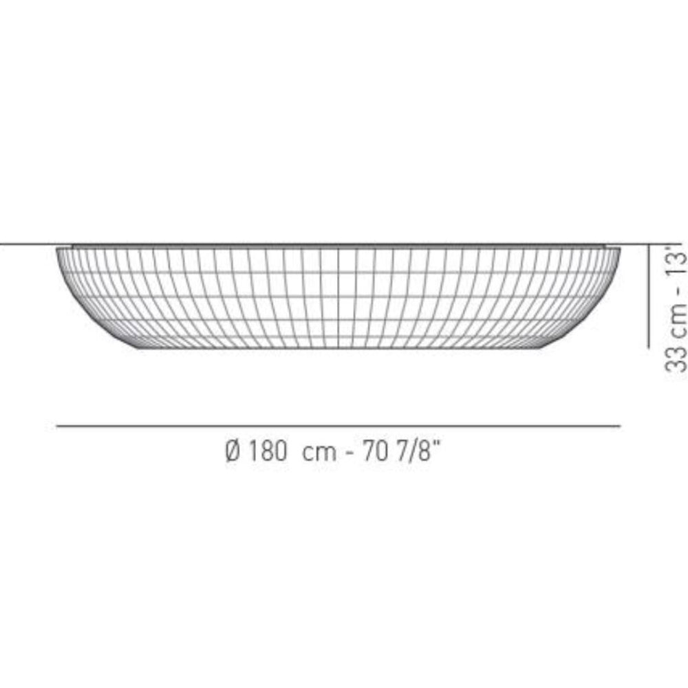 Bell X-Large Ceiling Light Specifications