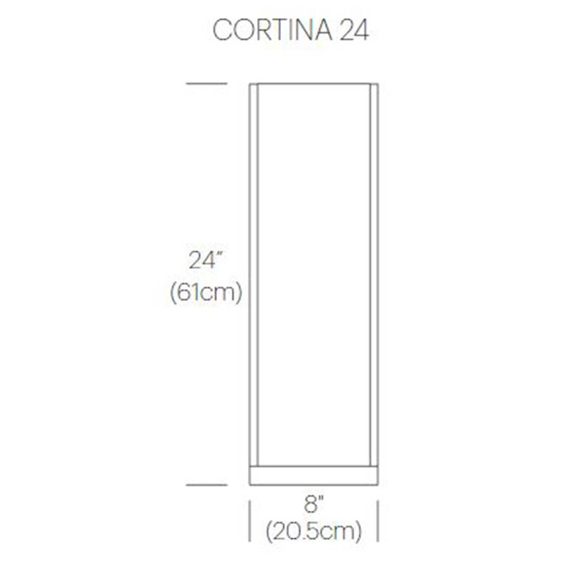 Cortina Table Lamp Specifications