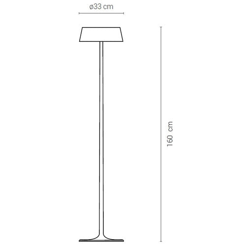 China Large Floor Lamp by Penta