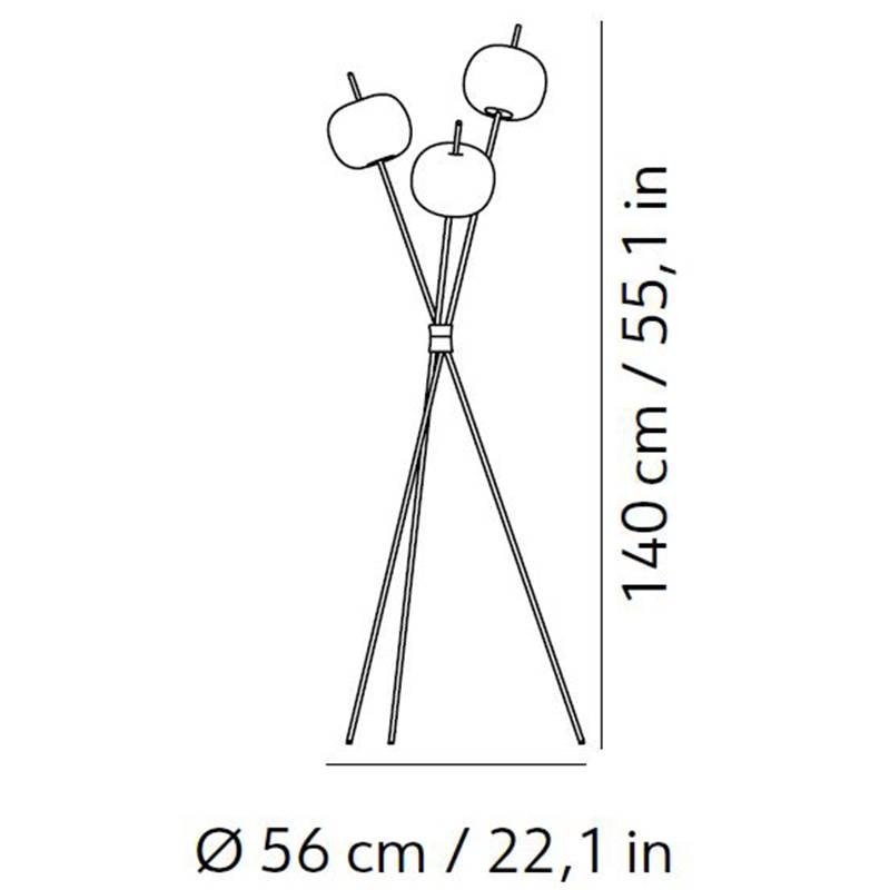 Kushi Floor Lamp Specifications