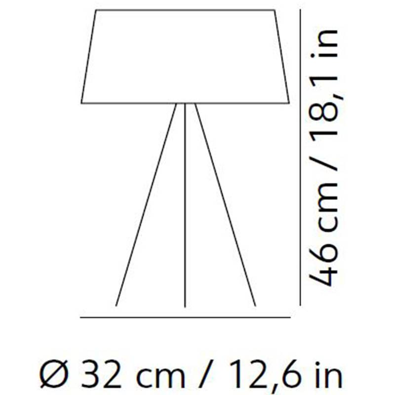 Tripod Table Lamp Specifications