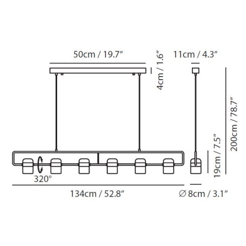 Ling 6 Linear Suspension
