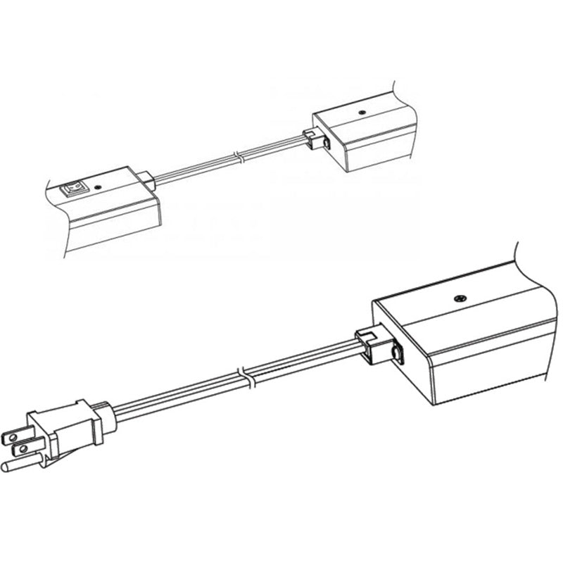 Power Cord for Xenon Light Bars by WAC Lighting