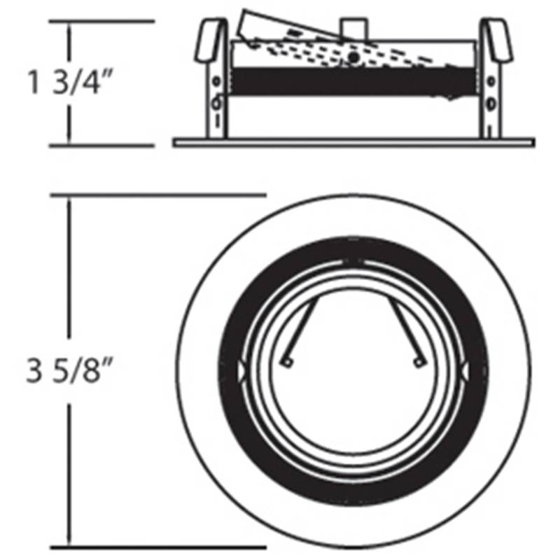Stepped Baffle 3 inch Trim Specifications