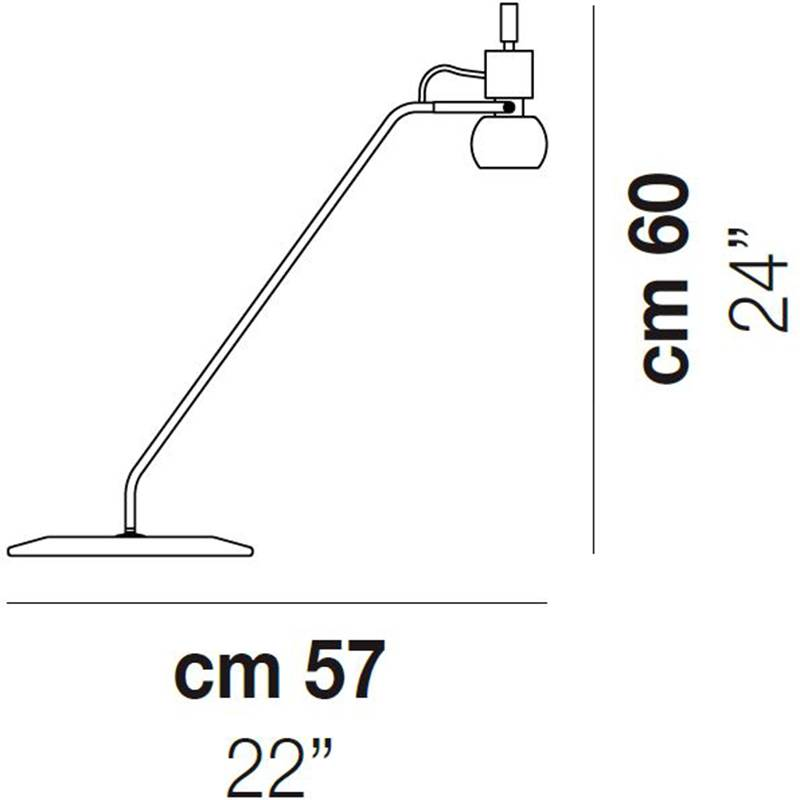 Vega Table Lamp Specifications
