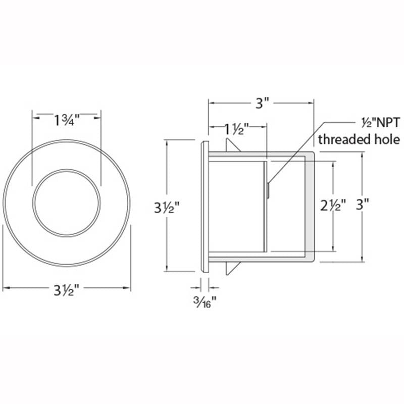 LEDme LED310 Step and Wall Light Specifications