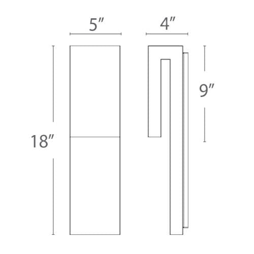 Double Down Outdoor Wall Sconce