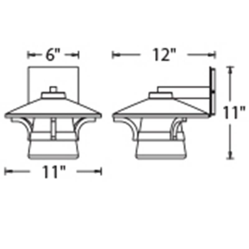 Abode Outdoor Wall Sconce Specifications