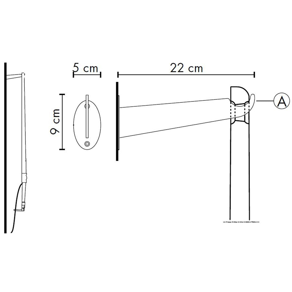 Tobia Wall Hook Specifications