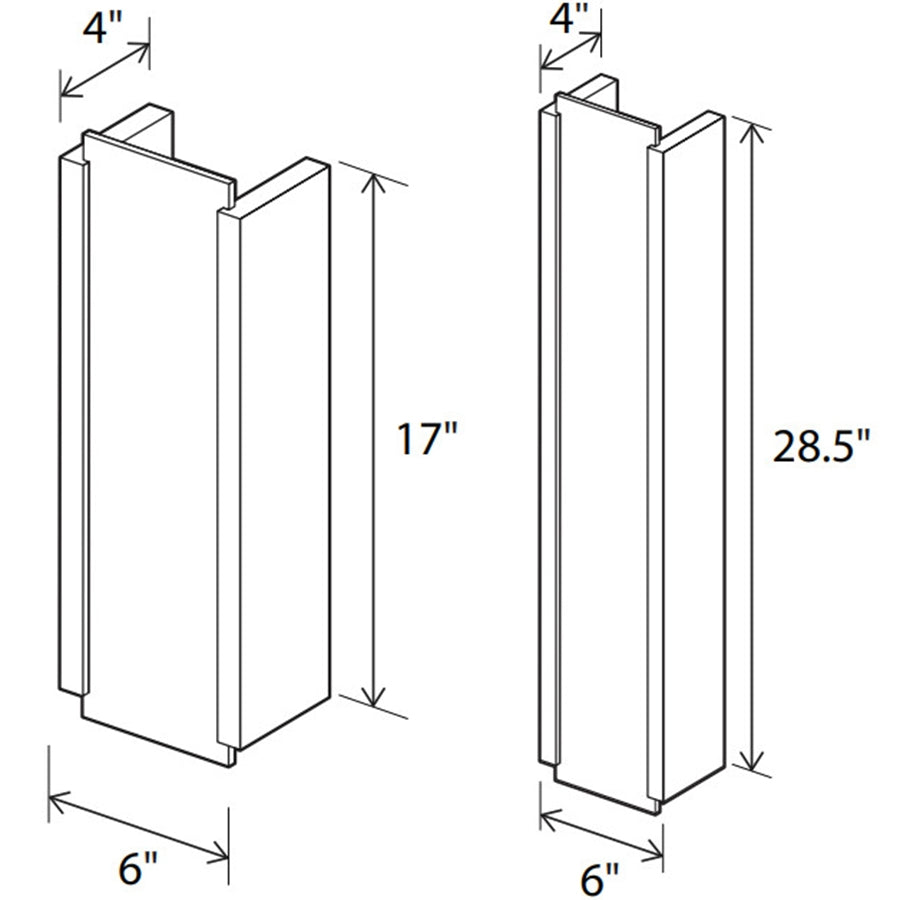 Capio Wall Sconce Specifications