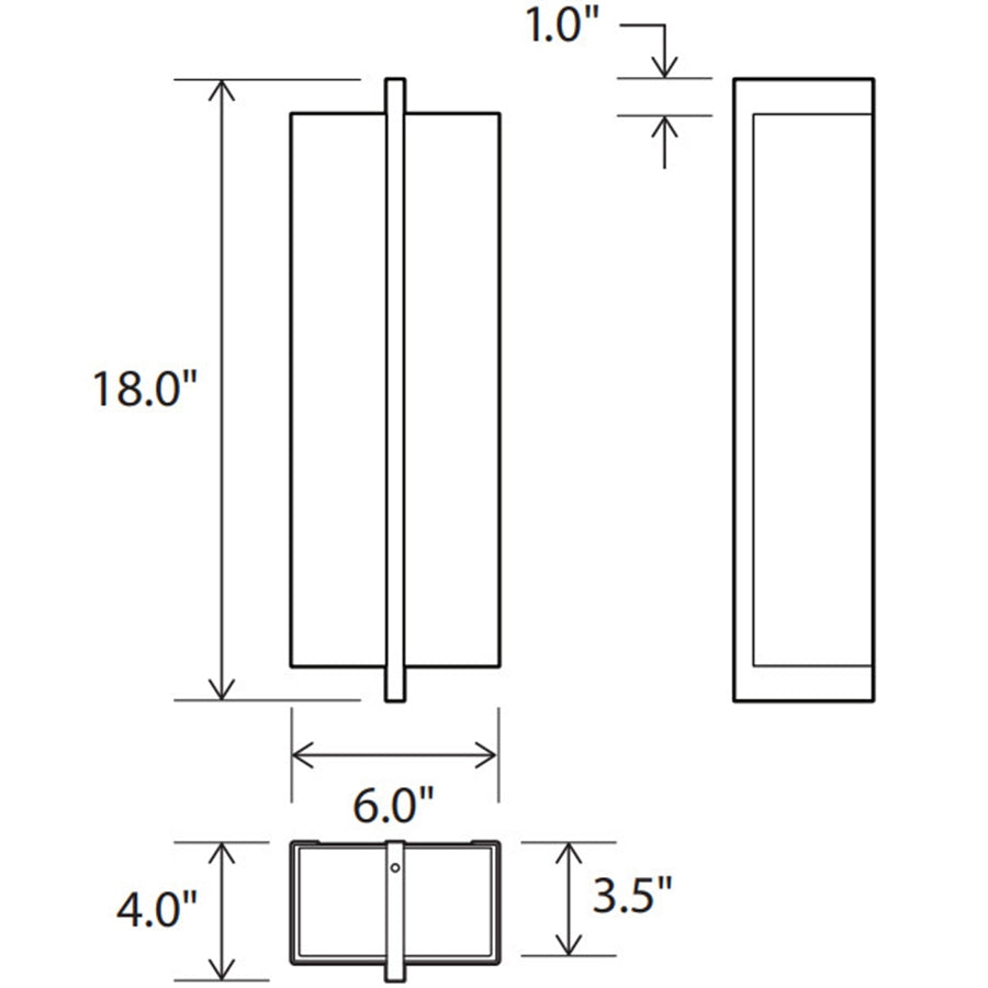 Via Wall Sconce Specifications