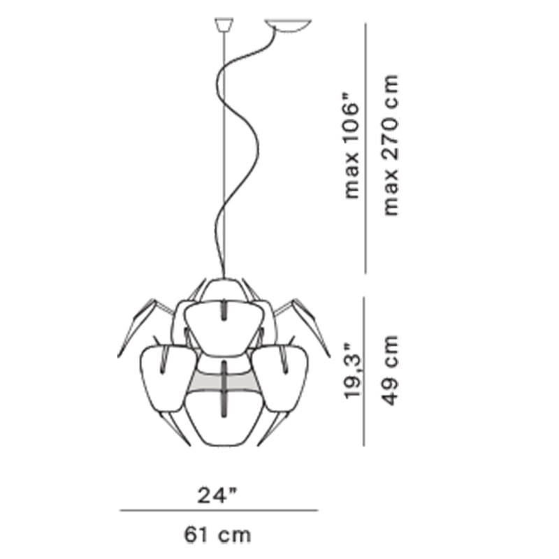 Hope D66/12 Pendant Specifications