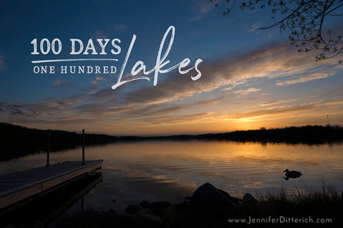 100 Lakes in 100 Days - Finishing the Challenge