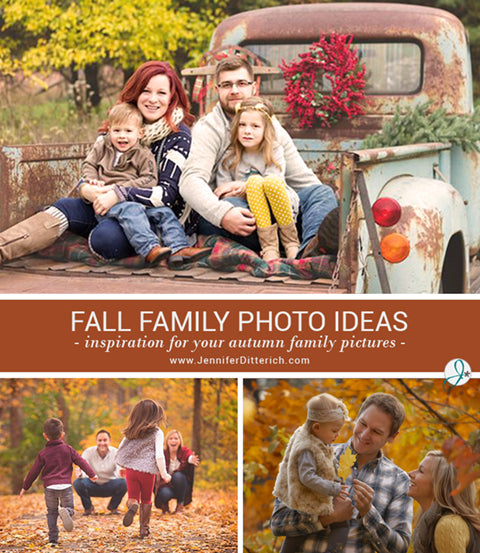 Fall Family Photo Ideas by Jennifer Ditterich Designs