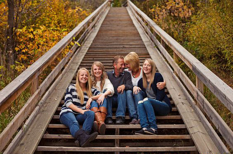 Fall Family Photo by Kelsy Nielson Photographer