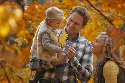 Fall Family Photo by Quicksilver Photography