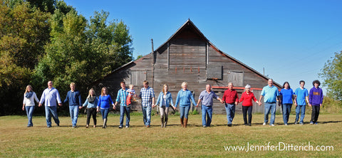 Photography your family on the farm by Jennifer Ditterich