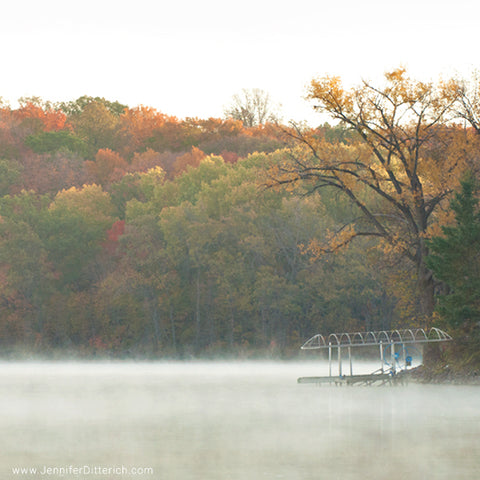 Foggy Morning on the Lake by Jennifer Ditterich
