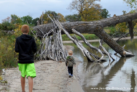 Getting Kids Excited About Nature by Jennifer Ditterich Designs