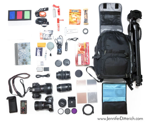 Grant Johnson Photography Camera Gear